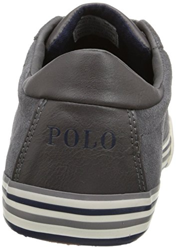 Polo Ralph Lauren Heren Harvey Fashion Sneaker Charcoal Grijs