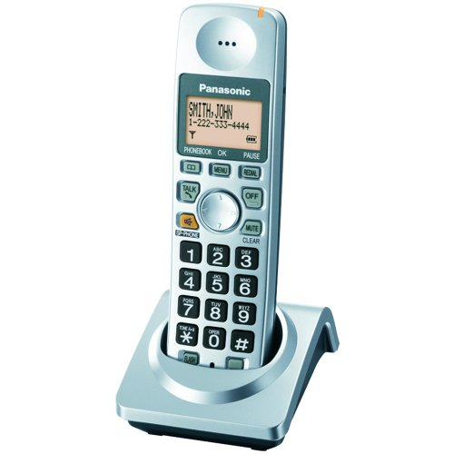 Panasonic KX-TGA101S Digital Cordless DECT 6.0 Expansion Handset, Office Central
