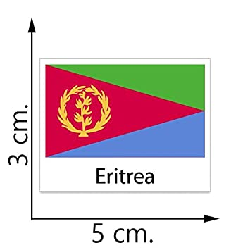 Eritrea flag temporary tattoos sticker body tattoo
