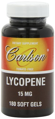 Carlson Labs Lycopene, 15mg, 180 Softgels