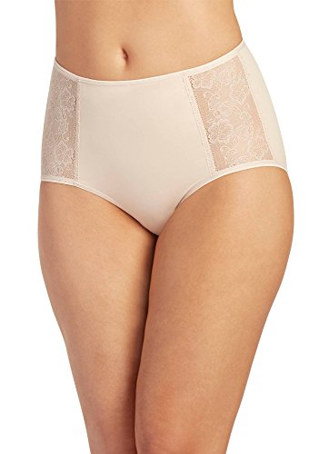 Jockey Women's Underwear Slimmers Side Lace Brief, Light, ()
