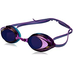 Speedo Women's Vanquisher 2.0 Mirrored Swim Goggles, One Size, Purple Dream