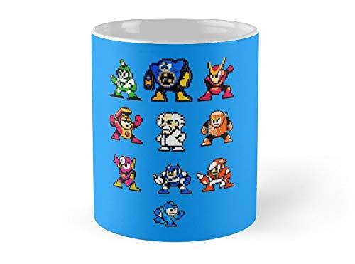 Land Rus Mug Mega Man 2 Mug - 11oz Mug - Features wraparound prints - Dishwasher safe - Made from Ceramic - Best gift for family friends (Megaman E Tank Mug)