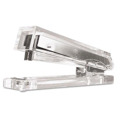 Clear Acrylic Standard Stapler, 25-Sheet Capacity, Clear, Sold as 1 Each
