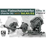 AF35125 1/35 Sw36 searchlight / Sd. Ah51 trailer