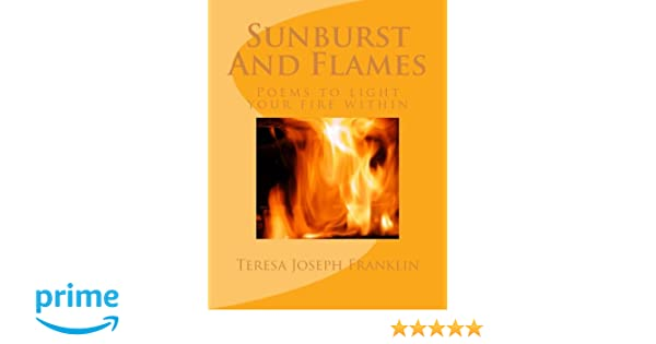 SUNBURST AND FLAMES