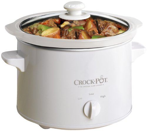 Crock-Pot SCPQK5025W 220 Volts (Not for USA) Slow Cooker, 2.4 Litre, White