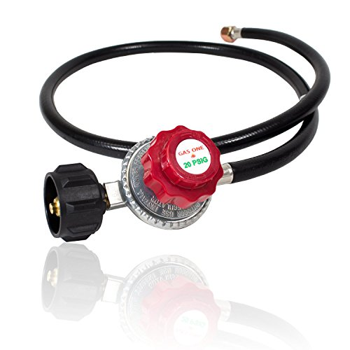 gas-one-4ft-high-pressure-propane-0-20-psi-adjustable-regulator-with-4ft-qcc-1-type-hose-csa-certifi