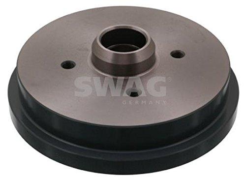 SWAG Rear Brake Drums PAIR x2 Fits AUDI 50 80 SEAT Cordoba VW Polo 191501615