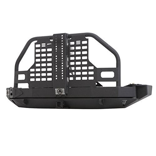 - Smittybilt 76896 XRC Atlas Rear Bumper And Tire Carrier