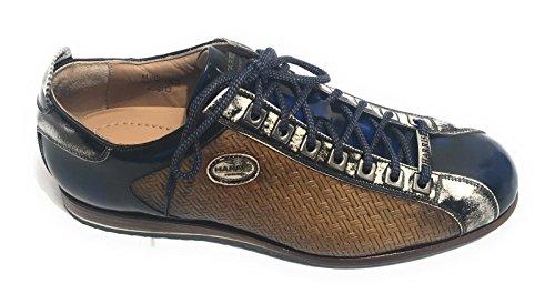 Shade U17HA61 Marrone Kabul Harris Intreccio Blu Scarpe Grigio Uomo Sneaker qxw0Z4