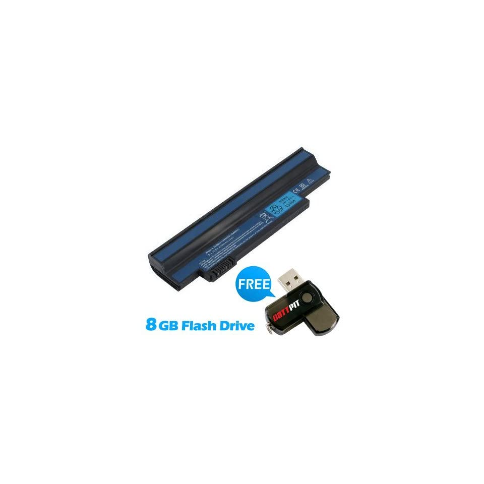 Battpit™ Laptop / Notebook Battery Replacement for Acer UM09H41 (2200mAh / 24Wh) with FREE 8GB Battpit™ USB Flash Drive