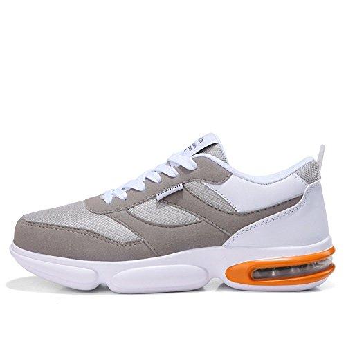 Zapatillas Verano para Casual de Deporte Running Moda Ligeras Transpirables Zapatillas Gris de atléticas de Otoño Hombre 2018 Zapatillas PE6xndd