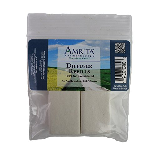 Aromatherapy Diffuser Pad Refills : AMRITA Aromatherapy (Aromatherapy Diffuser Pads)