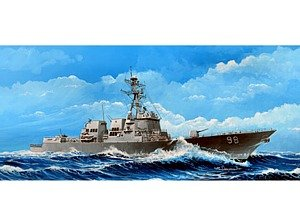 Trumpeter 1/350 Scale USS Forrest Sherman DDG98 Arleigh, used for sale  Delivered anywhere in USA