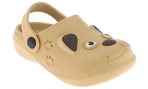 Capelli New York Toddler Puppy Clog with Backstrap