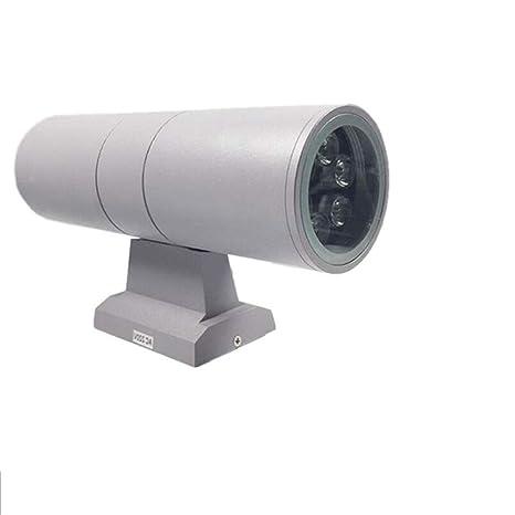 Aplique de pared LED de dos vías 6W9W12W18W24W Aplique de pared de ...