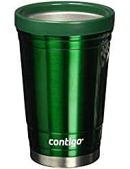 Contigo Party Cup, 16-Ounce, Stainless Steel, Doble Wall vaccum-Insulated