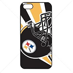 NFL American football Pittsburgh Steelers Case For Iphone 6 Plus (5.5 Inch) Cover PC Soft (Black)
