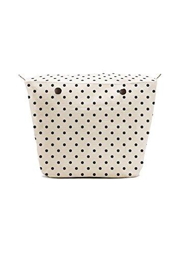 Black Dots - Women's Fashion Lime & Soda Inner Bag