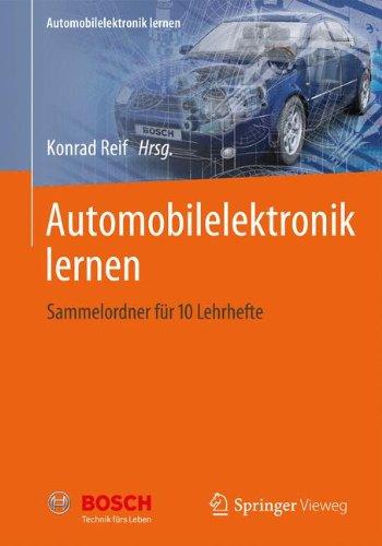 Automobilelektronik lernen: Sammelordner für 10 Lehrhefte