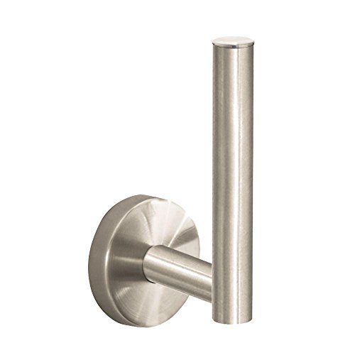 E & S Accessories Wall Mounted Spare Toilet Paper Holder Finish: Brushed Nickel