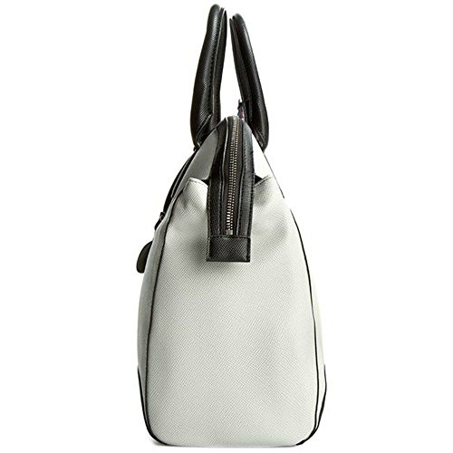 Jeans Bicolor Top Bianco Armani C5268r4 Saffiano White Handle 10 Bag wgCFFqEd