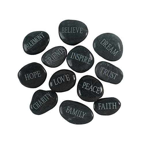 Fun Express Bulk Faith Stones Novelty (1 Dozen) ()