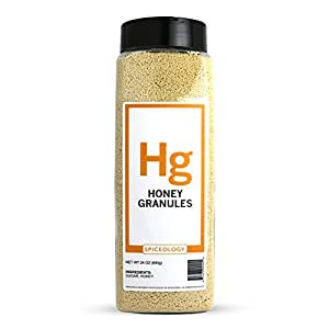Spiceology Premium Spices - Honey Granules, 24 oz
