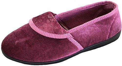 KS Brands , Damen Hausschuhe Dusky Pink