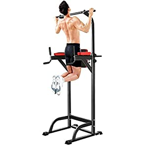 Free standing pull up bars