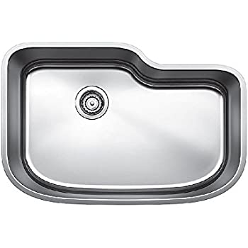 this item blanco 441588 one undermount single bowl kitchen sink x large stainless steel - Bowl Kitchen Sink