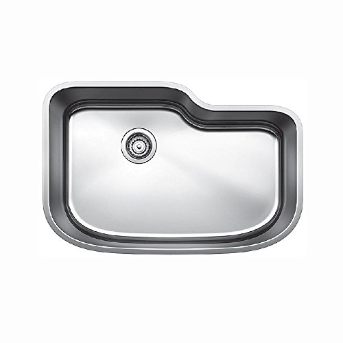 Blanco 441588 One Undermount Single Bowl Kitchen Sink, X-Large, Stainless Steel