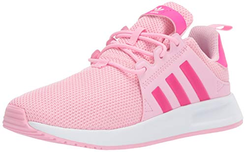 adidas Originals Unisex X_PLR Running Shoe True Pink/Shock Pink/White, 2.5 M US Little Kid