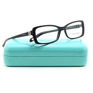 Tiffany & Co. TF 2091-B Women Rectangle Eyeglasses RX - able Frame (Pearl Grey 8211, 53)