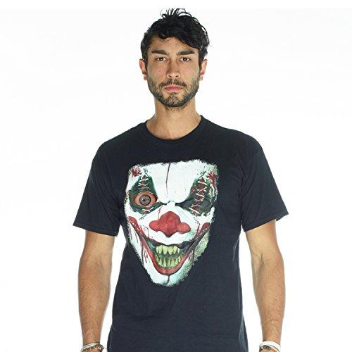 Women For Morphsuit (Digital Dudz Adult Unisex Moving Eye Demon Clown Digital T-Shirt   S  )