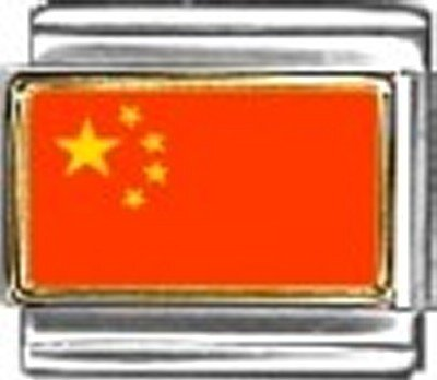 - China Photo Flag Italian Charm Bracelet Jewelry Link