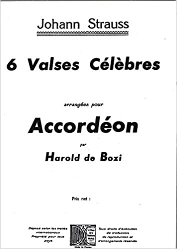 6 Valses Accordeon