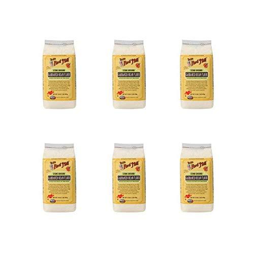 (Stone Ground Garbanzo Bean Flour 16 Oz Pkg (Pack of 6))