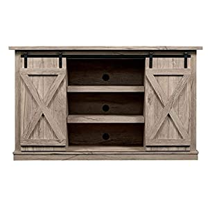 Comfort Smart Wrangler Sliding Barn Door TV Stand