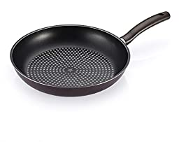 Happycall 5 Layer Diamond Nonstick Frying Pan 12.6 inch, PFOA-Free, Skillet, Frypan, Dark Brown