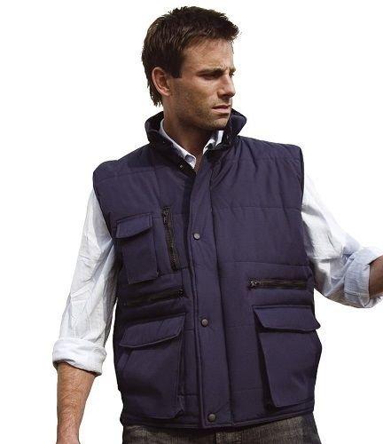 Result Workguard Gilet Bodywarmer blau S [Textilien]