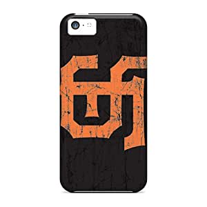 Scratch Protection Cell-phone Hard Cover For Iphone 5c (YNZ1686Hgpc) Customized Beautiful San Francisco Giants Image
