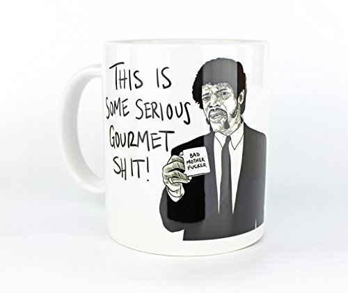 This Is Some Serious Gourmet Shit - 11oz Ceramic Coffee - Django Unchained Glasses