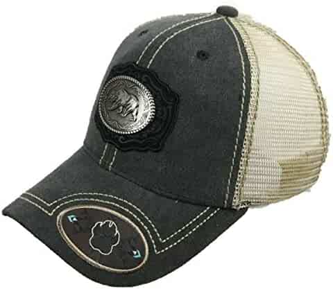 d1e24cfa4f egy mo Bear Baseball CapCali Republic Mesh Trucker Hip hop Charcoal