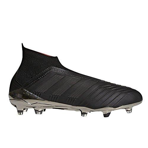 Adidas Predator 18 + FG - Chaleco de fútbol para Hombre, Core Black/Core Black/Real Coral, 8 M US