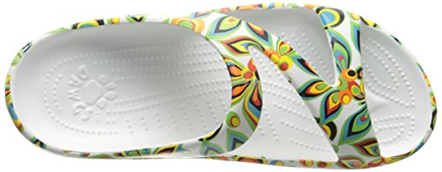 Z DAWGS DAWGS Loudmouth Shagadelic Arch Sandals Support White Womens Womens gYqx6Z56