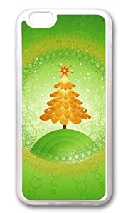 MOKSHOP Adorable Green Christmas Tree Soft Case Protective Shell Cell Phone Cover For Apple Iphone 6 (4.7 Inch) - TPU Transparent by icecream design