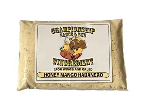 - Wingredient: Honey Mango Habanero Home Pack: Award winning sauce mix and dry rub for wings and grub. Gourmet seasoning mix, hot buffalo chicken wings, steak, ribs, pork, fish, seafood, BBQ, Barbecue.