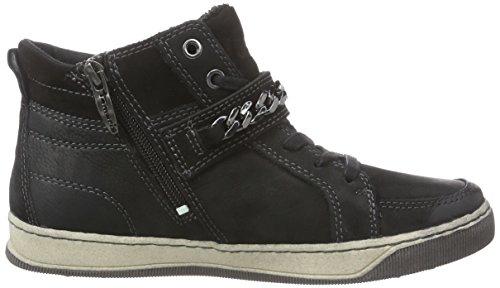 Hautes Tamaris 25222 Femme Baskets Noir EqprE0x